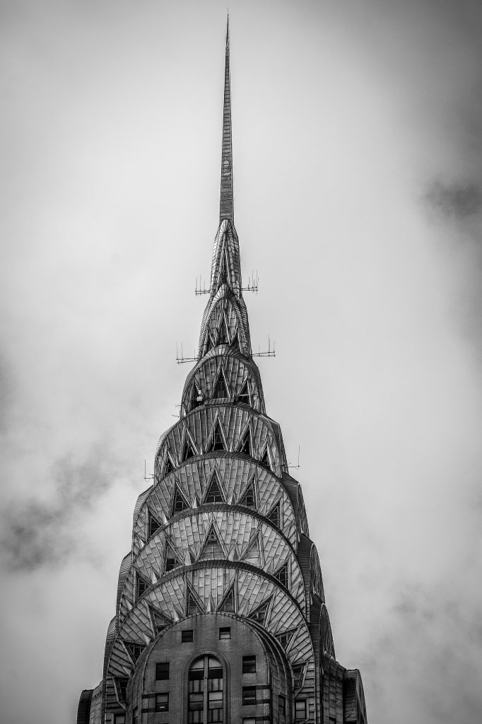NYC Walking Tour. Chrysler Building NYC