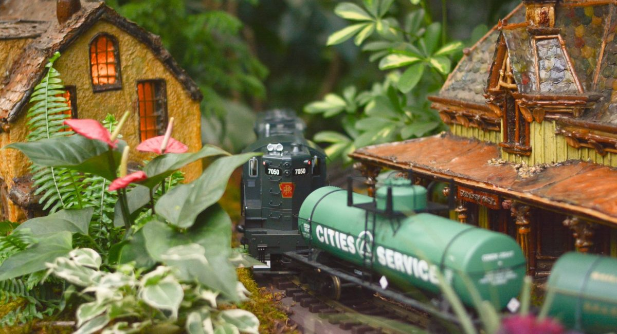Holiday Train Show in New York by Vodkatonik