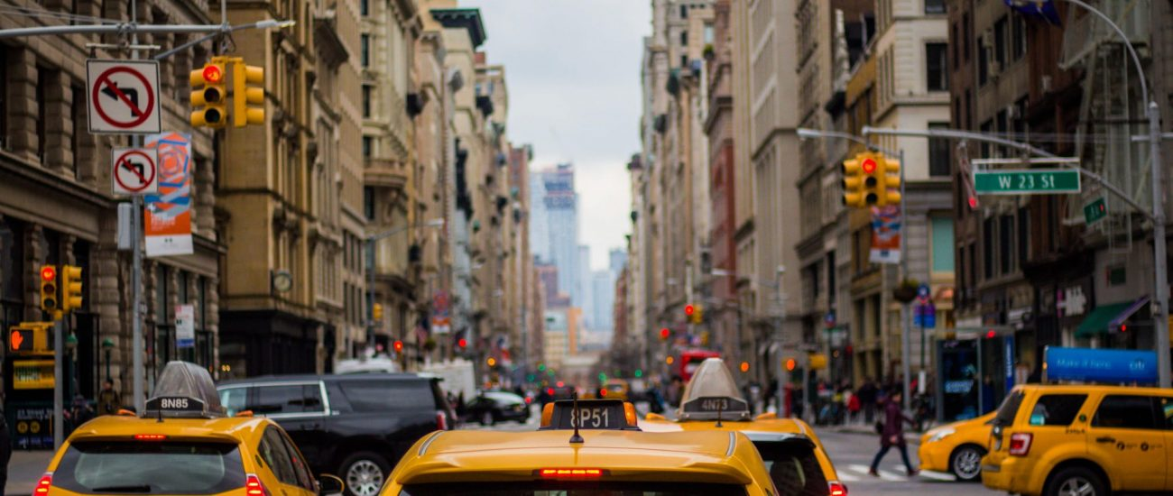 NYC cabs. Yellow Cab